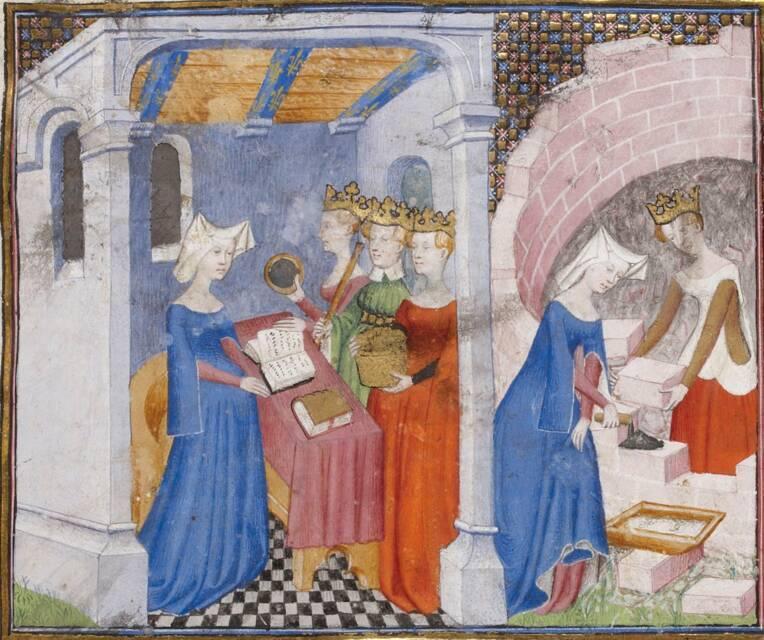 Manuscrit Christine de Pizan, La cité des femmes